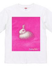 Smoking Rabbit-PINK