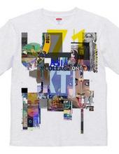 Collage on T/アジアの混沌