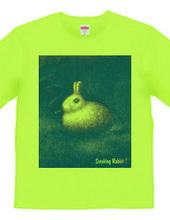 Smoking Rabbit-BLUE