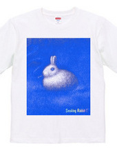 Smoking Rabbit-BLUE