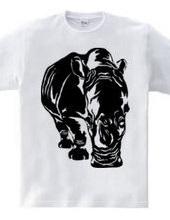 white rhino.