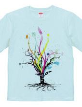 5から生まれる樹 Color