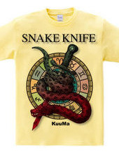 snake and knife