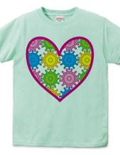 Heart of cogwheel