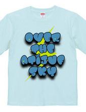 SKY Tシャツ ブルー