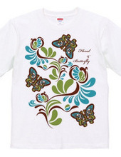 Floral & Butterfly