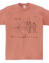 パイオニア探査機の金属板