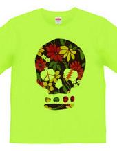 Flower-Skull T-Shirt