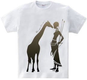 Giraffe meets Girl