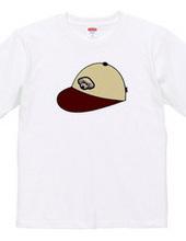 brown cap