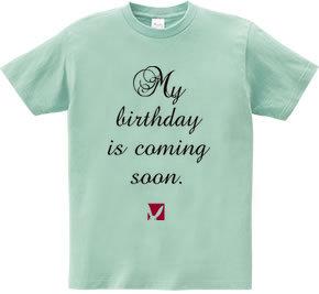 もうすぐ誕生日