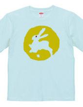 A rabbit on the moon