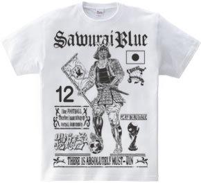 SAMURAI BLUE Tシャツ