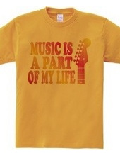 MUSIC IS A PART OF MY LIFE(C)