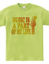 MUSIC IS A PART OF MY LIFE(O)