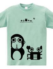 Monkey & Crab