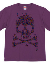 color block -skull-