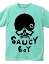 SAUCY BOY ロゴ