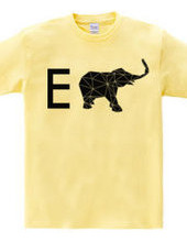 E for elefant