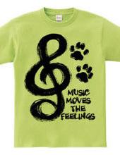 MUSIC MOVES THE FEELINGS