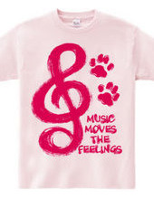 MUSIC MOVES THE FEELINGS(R)