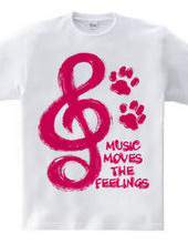 MUSIC MOVES THE FEELINGS(R)