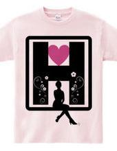H (pink)