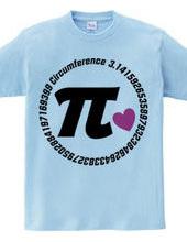 π (heart)