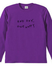 one day, one happy