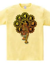 胎蔵曼荼羅と虎