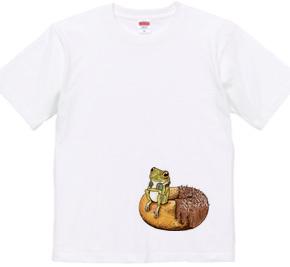 ドーナツとカエル