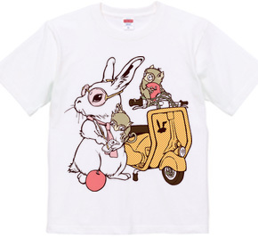Rabbit and Vespa