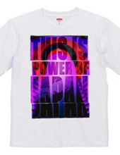 POWER OF JAPANチャリティーTシャツ