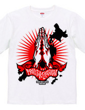 PRAY FOR EAST JAPAN RED