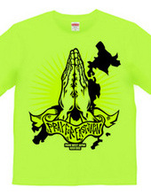 PRAY FOR EAST JAPAN YELLOW
