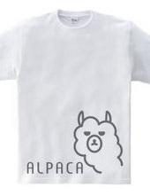 アルパカ -グレーデザイン-