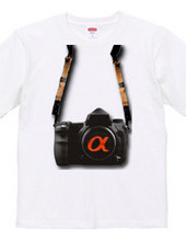 PHOTO CLUB α 公式Tシャツ