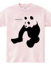 考えるパンダ (logo)