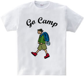 """GO CAMP""""color"""""""