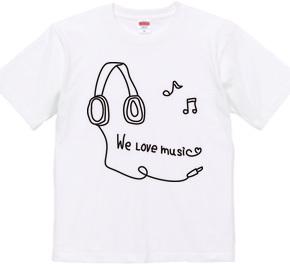 Drawn headphone