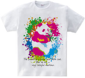 Colorful Panda