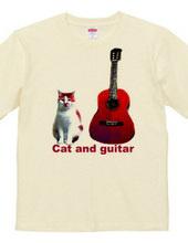 猫とギター