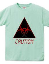 CAUTION(ブラック)