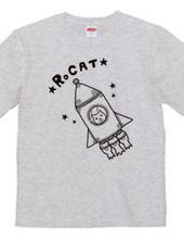 ロケットとネコ。