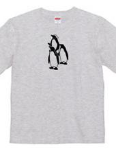 ペンギンの騎馬戦