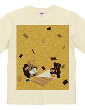 クマとチョコレート