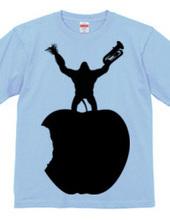 リンゴ→ゴリラ→ラッパ→パイナップル