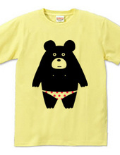 The bear of dot trousers