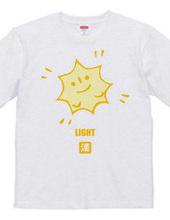 漢字キャラクター「光」