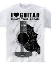 ギターシルエット